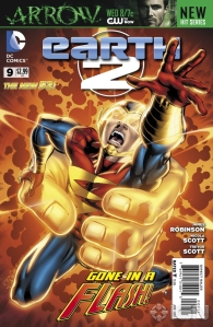 Earth 2 Issue 9 (Cover)