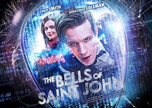 Dr Who The Bells of St John (Poster)