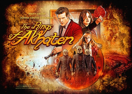 Dr Who The Rings of Akhaten (Poster)