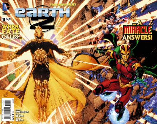 Earth 2 #11 (gatefold cover)