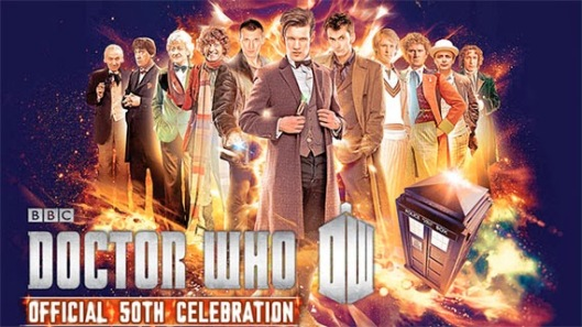 Doctor Who 50th Anniversart Convention Celebration