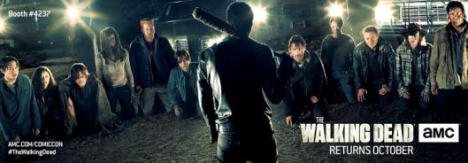 The Walking Dead Season 7 Banner SDCC